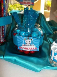 Thomas the Train party Birthday Party Ideas   Photo 2 of 12   Catch My Party