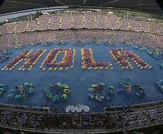 Estadi Olímpic Lluís Companys (Lluís Companys Olympic Stadium) - During 1992 Summer Olympics.