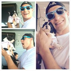 I can't....I can't even....this is just too cute.. #gronk