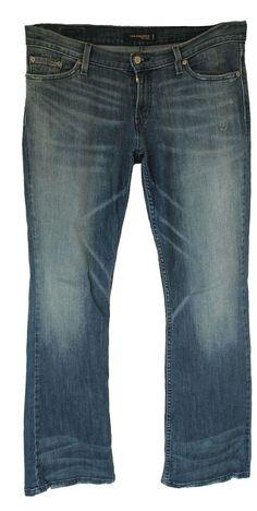 EUC Levis Too Super low Women's Blue Jeans 524 11M  #Levis #BootCut
