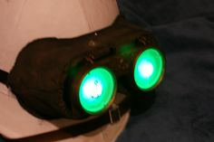 LED Light-Up Goggles Tutorial-- Submitted by steampunk University Member M. Slater