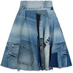 Cheap Women S Fashion Cowboy Boots Code: 6544405441 Diy Jeans, Denim Ideas, Jeans Rock, Denim Patchwork, Denim Fashion, Denim Skirt, Store Online, Department Store, Designer Clothing