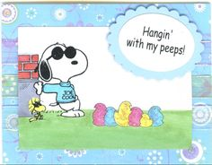 Snoopy's Homemade Fun: SNOOPY TUESDAY ~ SNOOPY CARD