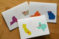 love from afar cards