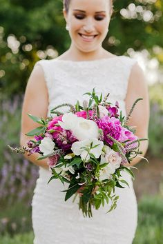 Lavender Inspiration Shoot by Kate Robinson, flowers by Leaf & Honey