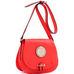 Dasein Crossbody Bag with Adjustable Buckle Strap ($36) ❤ liked on Polyvore featuring bags, handbags, shoulder bags, lightweight handbags, dasein purses, lightweight shoulder bag, dasein shoulder bag and flap handbags