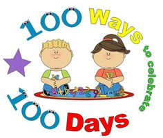 I'm challenging myself to name 100 ways to celebrate 100 days. So, here goes . . .        Estimate how far 100 feet is, student ...