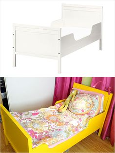 Ikea Hack: Sundvik Bed. Create this epic bed for your toddler. #home #diy