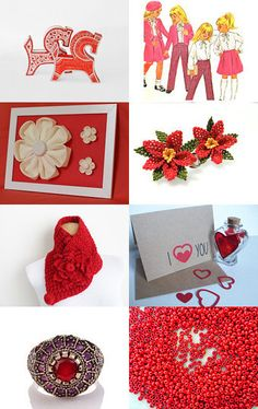 Fashionable red by Renata on Etsy--Pinned with TreasuryPin.com