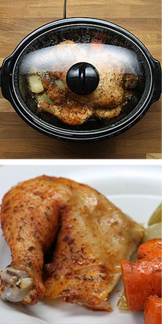 Slow Cooker Whole Chicken 83 Insanely Popular Dinners That Are Practical And Easy Crock Pot Slow Cooker, Crock Pot Cooking, Slow Cooker Chicken, Slow Cooker Recipes, Crockpot Recipes, Cooking Recipes, Roast Chicken, Chicken Recipes, Cooked Chicken