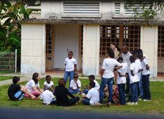 Spending time at the Orphanage in Martinique (WLC Trip)