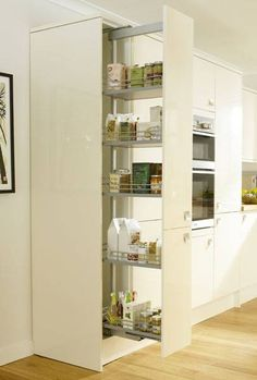 Full-Height Pull-Out Larder 300mm & 500mm - Storage Solutions - Accessories - Kitchen Collection - Howdens Joinery