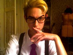 night vale - cecil cosplay