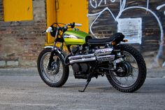CL360 Scrambler by Wrench Tech Racing  http://www.wrenchtechracing.com/