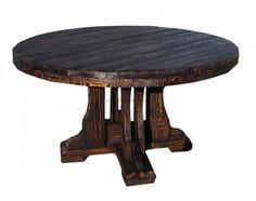 Купить стол под старину из массива сосны или дуба
