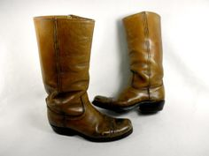 1970's Black Label Frye Campus Boot with Tall by PacificWonderland, $180.00