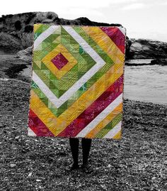 Lantana Sorbet Quilt   I decided to keep this for myself, bu…   Flickr