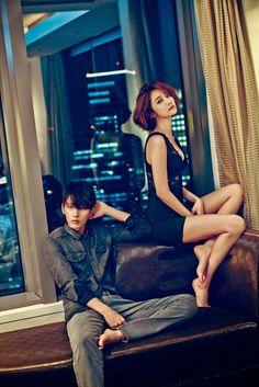 GIRLSTORY - 고준희 Calvin Klein F/W 2014 + W 11월호 화보