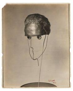 Jean Crotti's Bust of Duchamp (Portrait de Marcel Duchamp par Jean Crotti), 1915–16