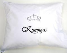 Tyynynliina Kuningas - Tekstiilit - Hyvän Tuulen Puoti