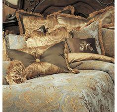 Michael Amini Elizabeth Luxury Bedding Collection