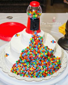 M&M Birthday Cake by The Sweet Chick
