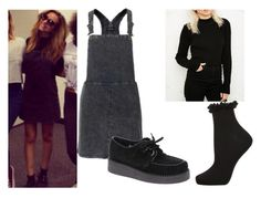 """Jade Thirlwall Backstage at the Salute Tour"" by little-mix-fashionlover ❤ liked on Polyvore featuring moda, Topshop e Underground"