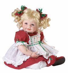 adora christmas doll | Adora - 2010 Name Your Own Baby -Brown Hair