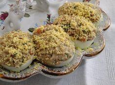 Receitas da Dieta Dukan: Ovos recheados Dukan