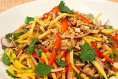 made this today and it was delic!! fantastic mango salad recipe :)