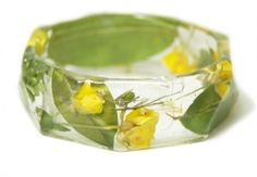Resin Jewelry  made with Real Flowers