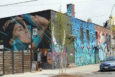 street art bushwick collective new york brooklyn nyccrazygirl New York Street Art, Street Art News, Graffiti, Liberty New York, Ville New York, Crazy Girls, Mosaic Art, New Art, Brooklyn