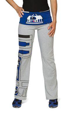 Pantalon de Yoga R2-D2 - Geek - Blog de PNG