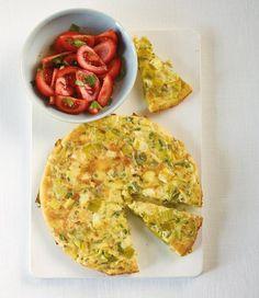 Lauch-Tortilla Rezept - [ESSEN UND TRINKEN]