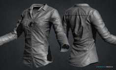 Making Shirt with Zbrush + Marvlous Designer (Time Lapse) by Jason Ahn