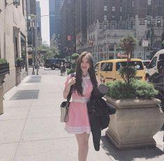 fromis_9 - Hayoung 190718 Fancafe Kpop Girl Groups, Korean Girl Groups, Kpop Girls, Glass Shoes, Ulzzang Girl, South Korean Girls, Cool Girl, Female, Pretty