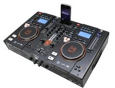 Mr. Dj MCD9800i 2 Dual CD Performance MIDI Controller System with Dock for iPod by Mr. Dj, http://www.amazon.com/dp/B00BCA4D9G/ref=cm_sw_r_pi_dp_U2DCrb16RE4Z3