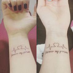 Thunder Bay Friendship Heart Tattoos