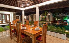 Villa Sunset Dining In Garden | Flickr - Photo Sharing!