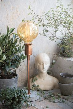 Holly's House - Hugo Copper Table Lamp