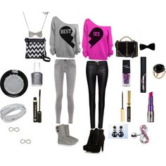 By Rhonda Biersack. Basically a outfit for a scene/emo best friend.