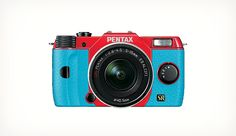 PENTAX Q7 lets you Customize the colors