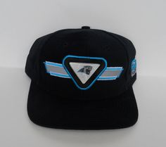 sports shoes 18564 527fb Vintage late-90s Carolina Panthers Snapback by Sports Specialties  (pre-owned) Nfl
