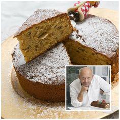 Greek Cake, Mascarpone Cake, Greek Sweets, Cake Icing, Greek Recipes, Deli, Allrecipes, Banana Bread, Recipies