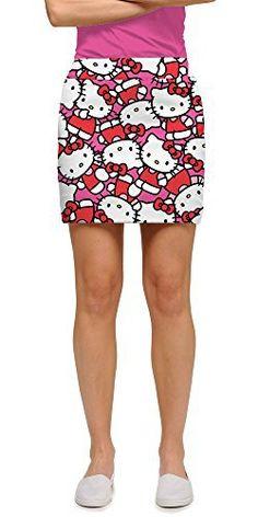 Loudmouth Golf Hello Kitty Celebration Pink Women's Skort 08 //Price: $125 & FREE Shipping // World of Hello Kitty https://worldofhellokitty.com/product/loudmouth-golf-hello-kitty-celebration-pink-womens-skort-08/    #hellokitty