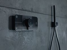 Thermostatic shower tap with plate AXOR ONE | Shower tap - HANSGROHE