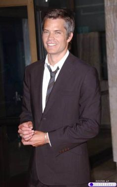 Afternoon eye candy: Timothy Olyphant