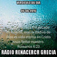 5 de junio de 2015  Versículo del Día