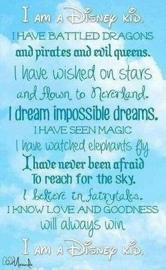 I'm not just a Disney kid, I'm Disney forever!!!