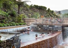 Image 17 of 29 from gallery of Thermal Springs Pools Poça da Dona Beija / m-arquitectos. Photograph by Paulo Goulart Thermal Pool, Thermal Baths, Portugal, Cultural, Contemporary Landscape, Archipelago, Hot Springs, Landscape Architecture, The Great Outdoors